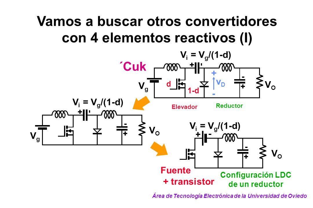 Vamos a buscar otros convertidores con 4 elementos reactivos (I)