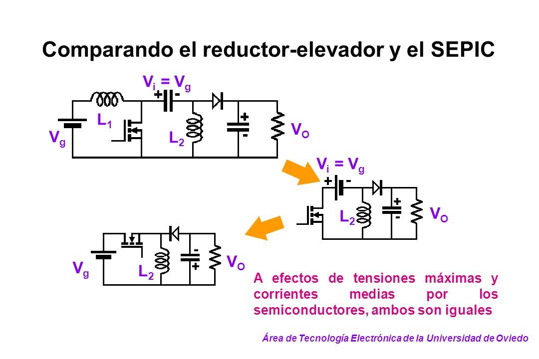 Comparando el reductor-elevador y el SEPIC
