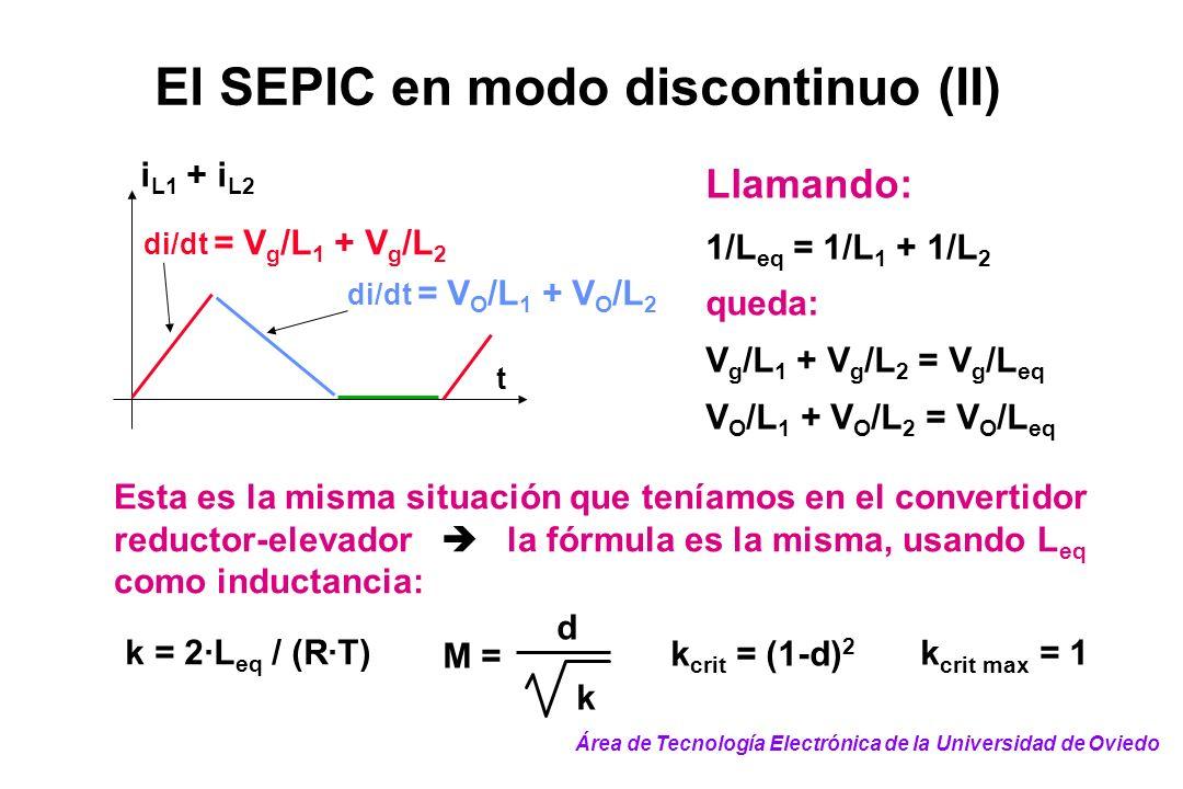El SEPIC en modo discontinuo (II)