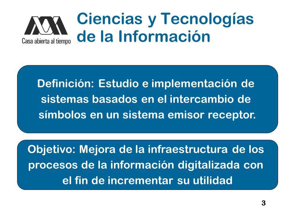 Ciencias y Tecnologías de la Información