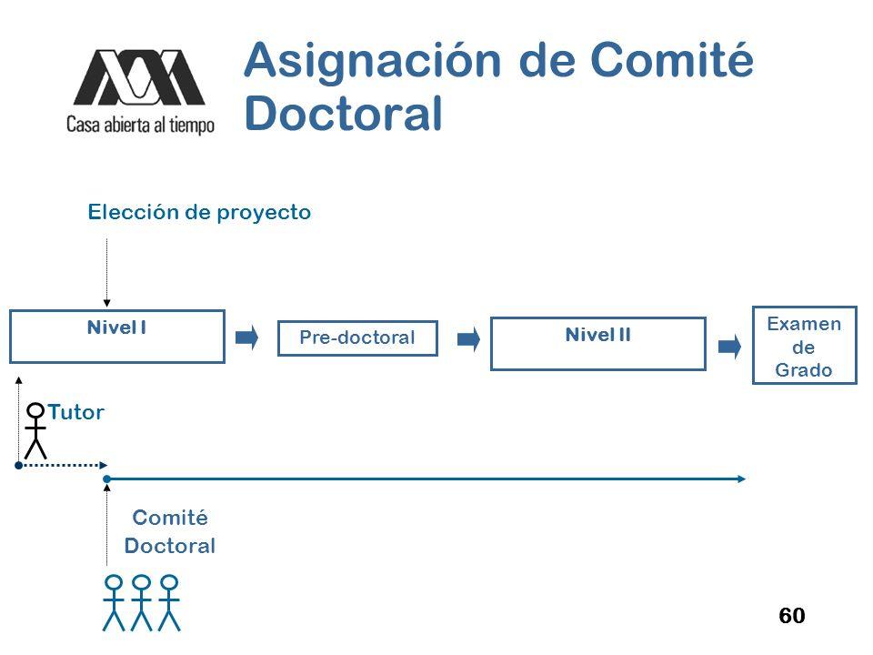 Asignación de Comité Doctoral