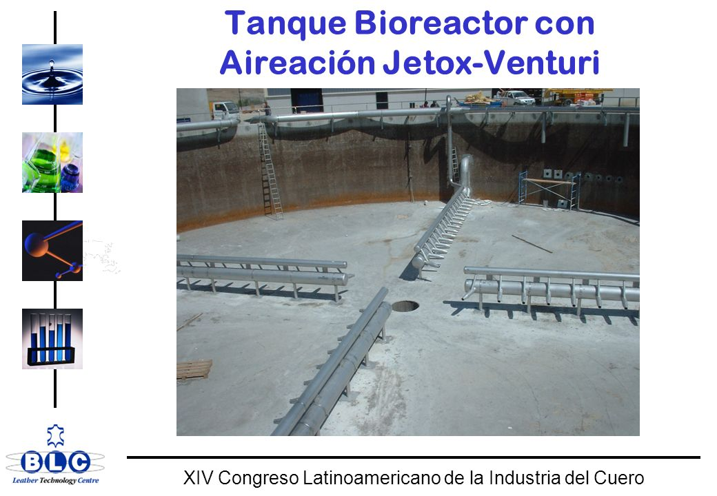 Tanque Bioreactor con Aireación Jetox-Venturi
