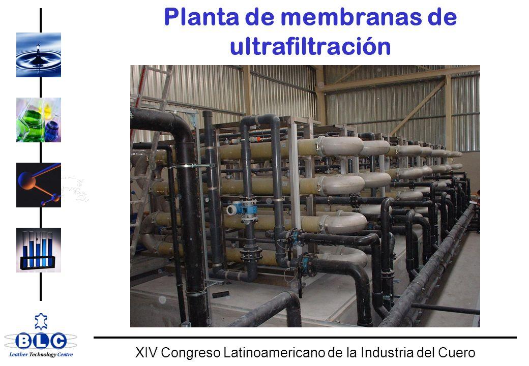 Planta de membranas de ultrafiltración