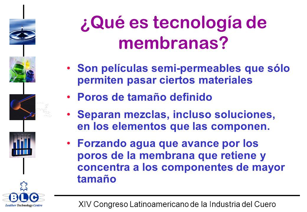 ¿Qué es tecnología de membranas