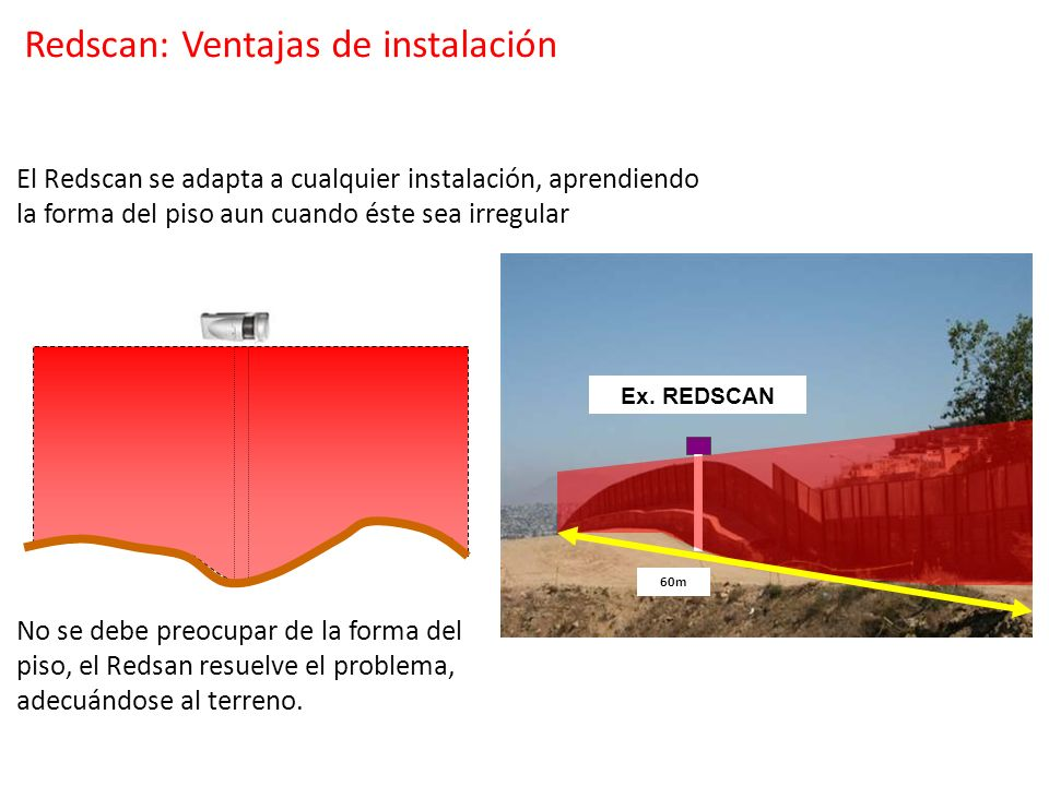 Redscan: Ventajas de instalación