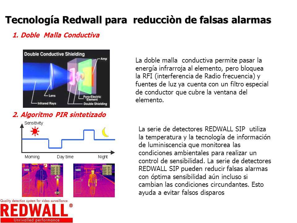 Tecnología Redwall para reducciòn de falsas alarmas