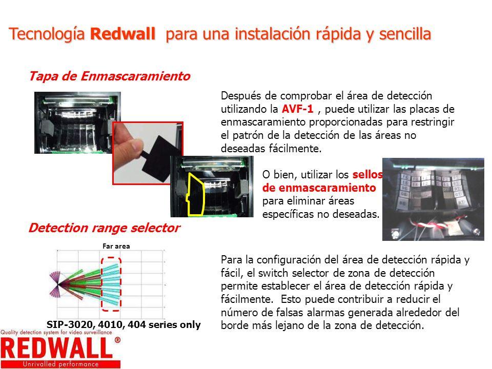 Tecnología Redwall para una instalación rápida y sencilla