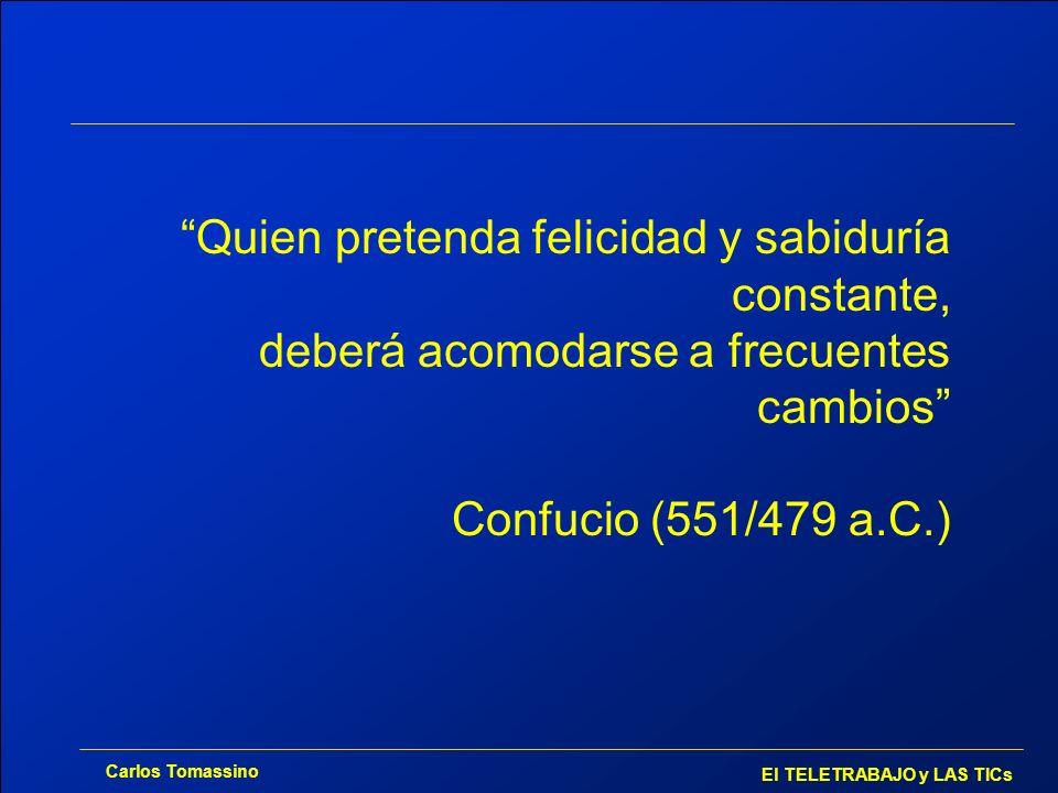 Quien pretenda felicidad y sabiduría constante, deberá acomodarse a frecuentes cambios Confucio (551/479 a.C.)