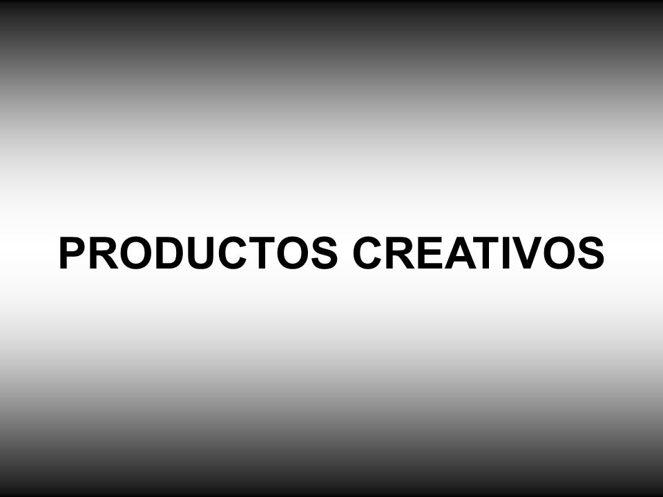 PRODUCTOS CREATIVOS