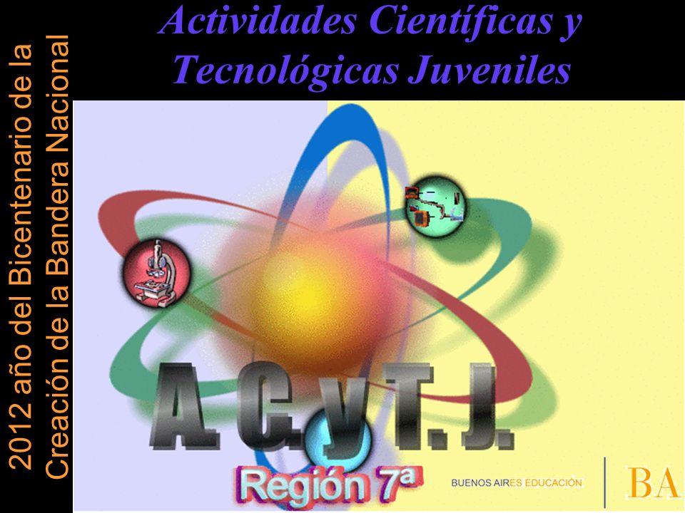 Actividades Científicas y Tecnológicas Juveniles