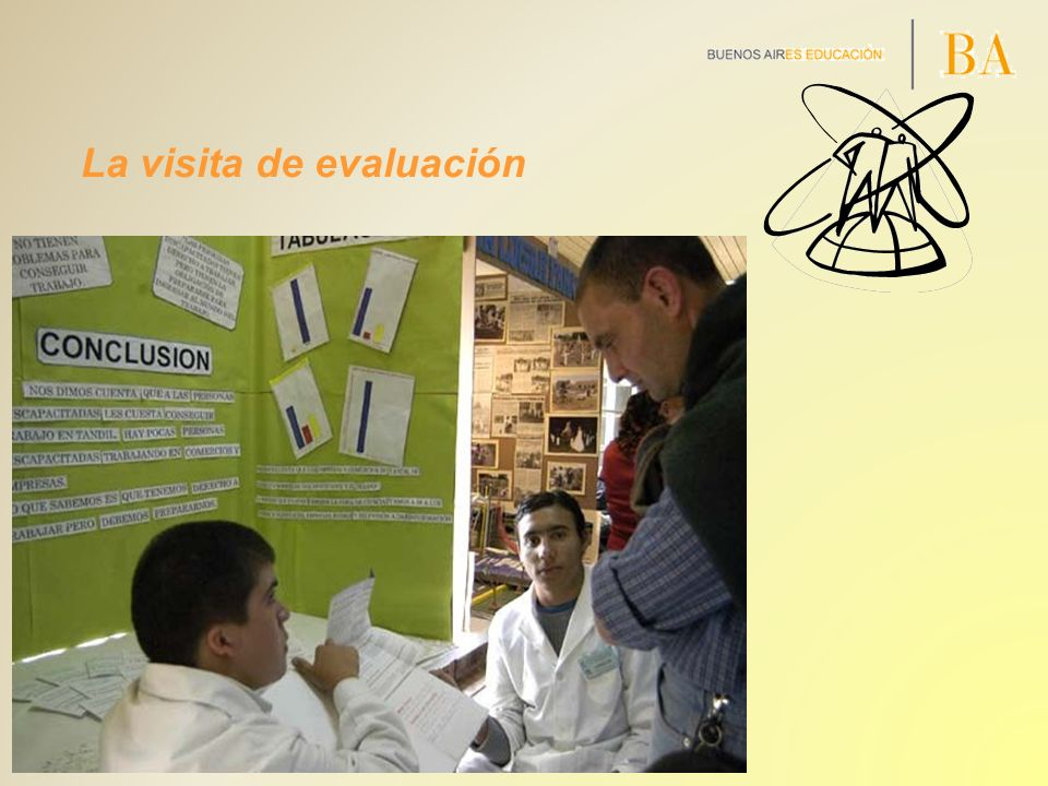 La visita de evaluación