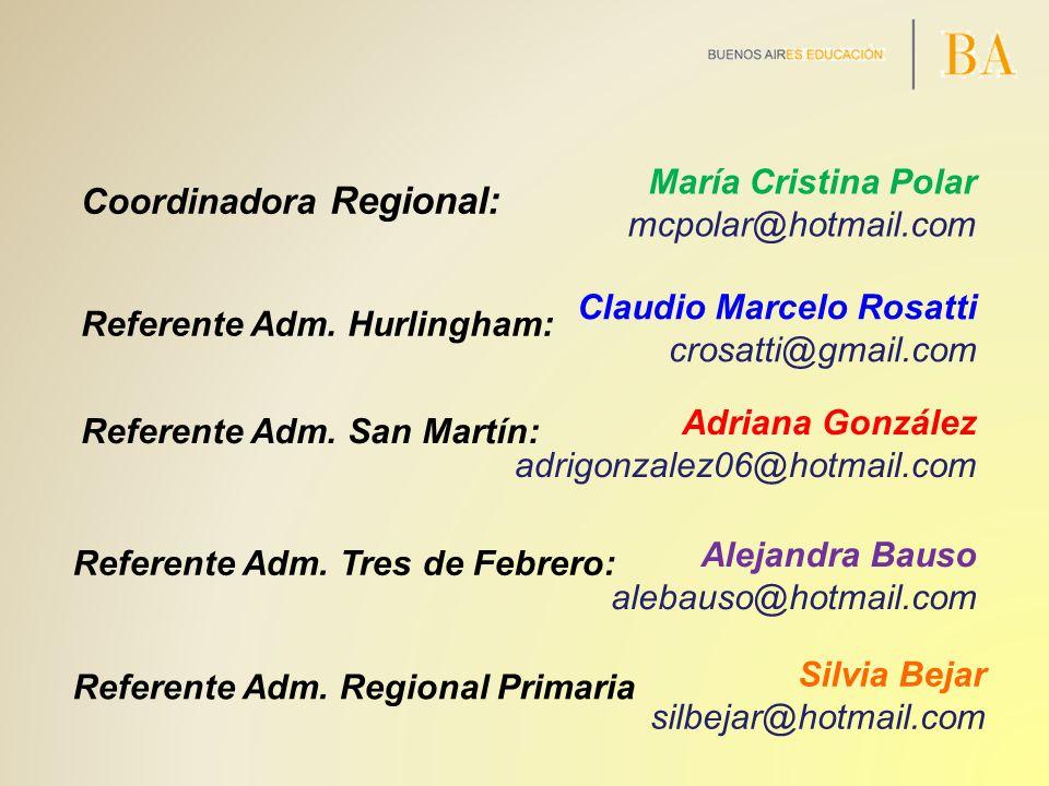 Coordinadora Regional: