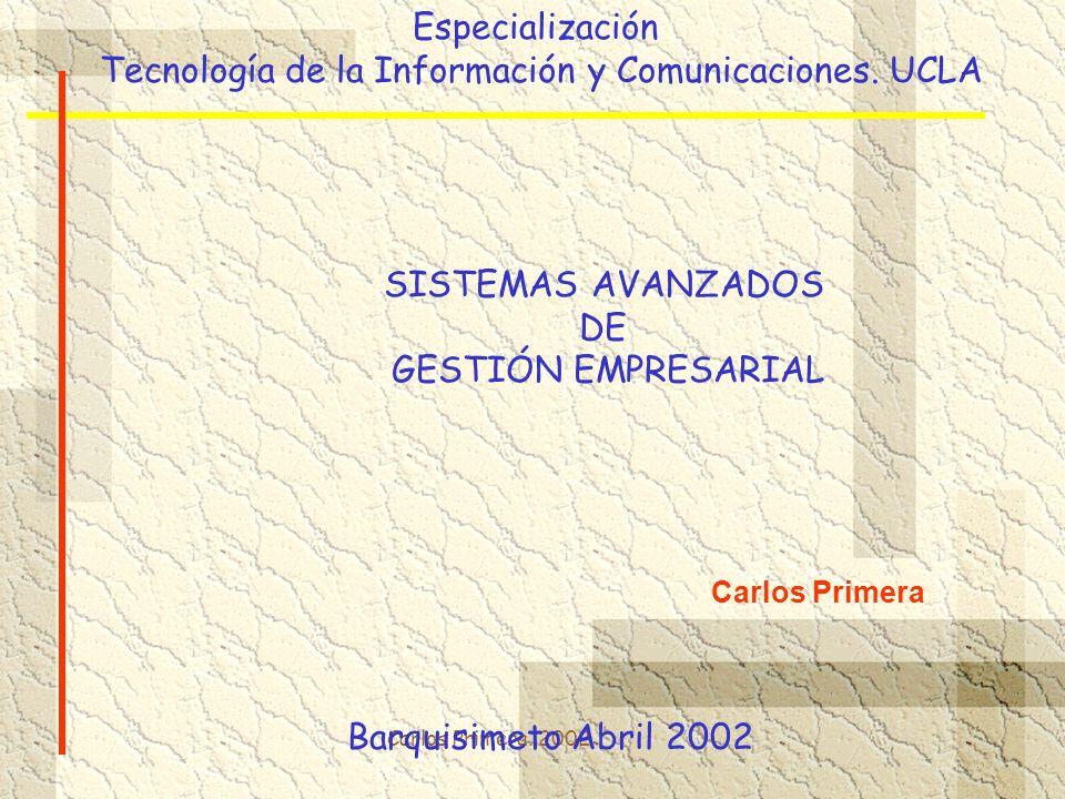 Tecnología de la Información y Comunicaciones. UCLA