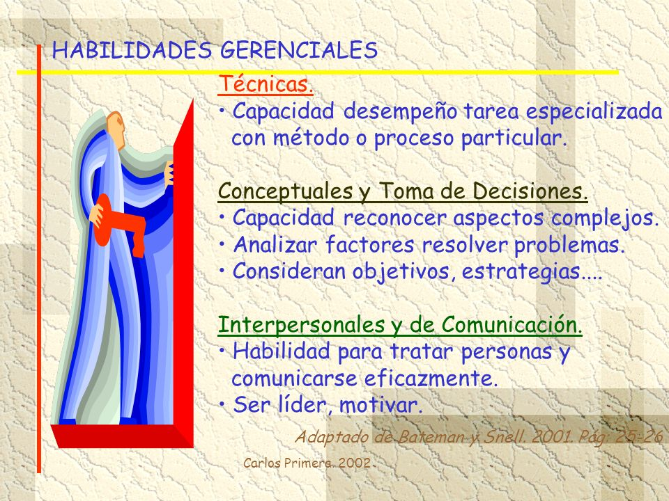HABILIDADES GERENCIALES