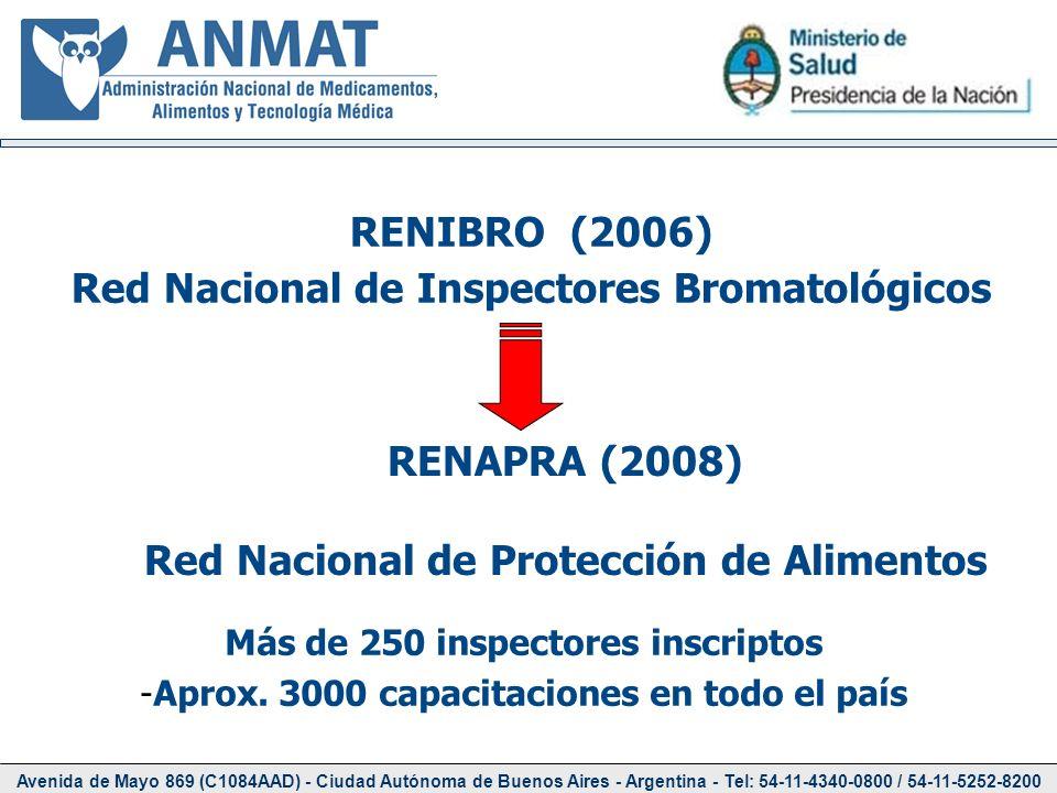 Red Nacional de Inspectores Bromatológicos