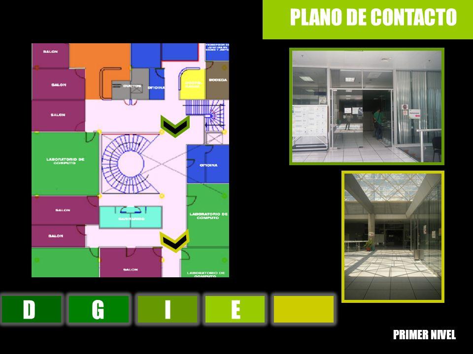 PLANO DE CONTACTO D G I E PRIMER NIVEL