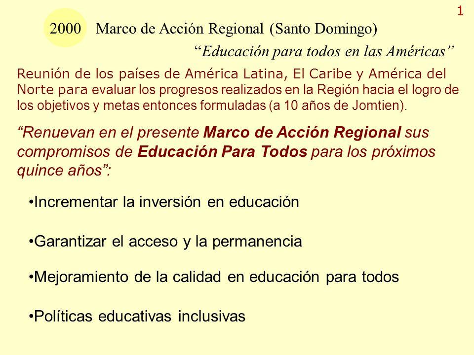 Marco de Acción Regional (Santo Domingo)