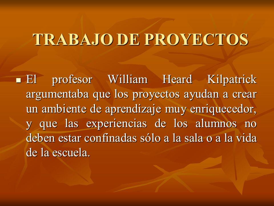 TRABAJO DE PROYECTOS