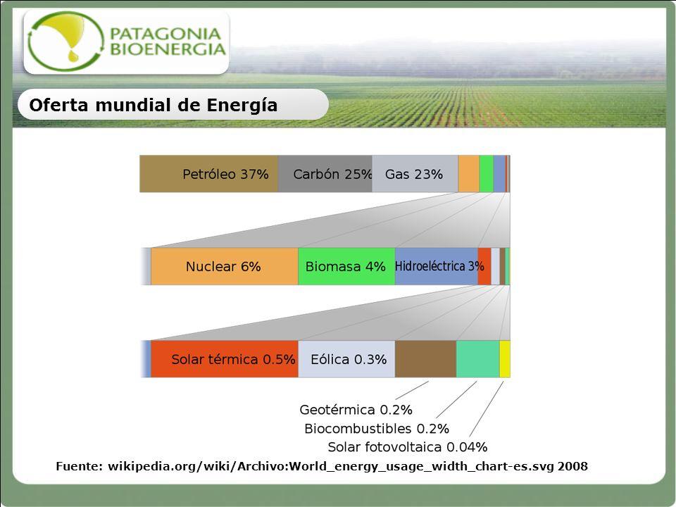 Oferta mundial de Energía