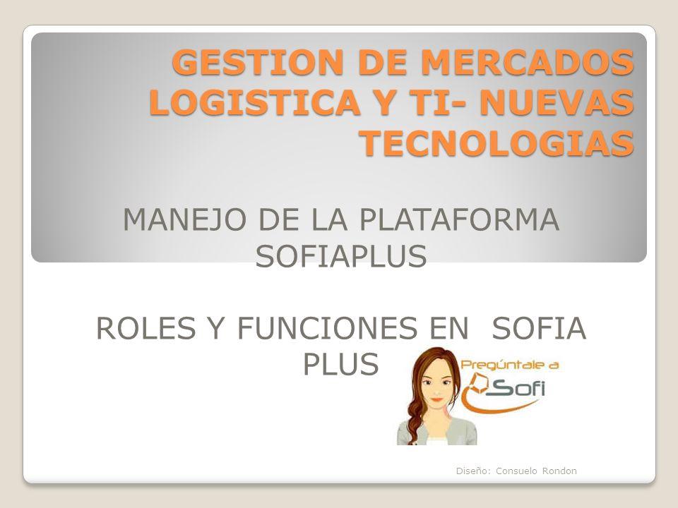 GESTION DE MERCADOS LOGISTICA Y TI- NUEVAS TECNOLOGIAS