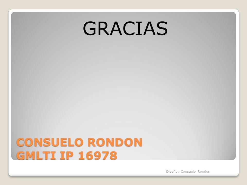 CONSUELO RONDON GMLTI IP 16978