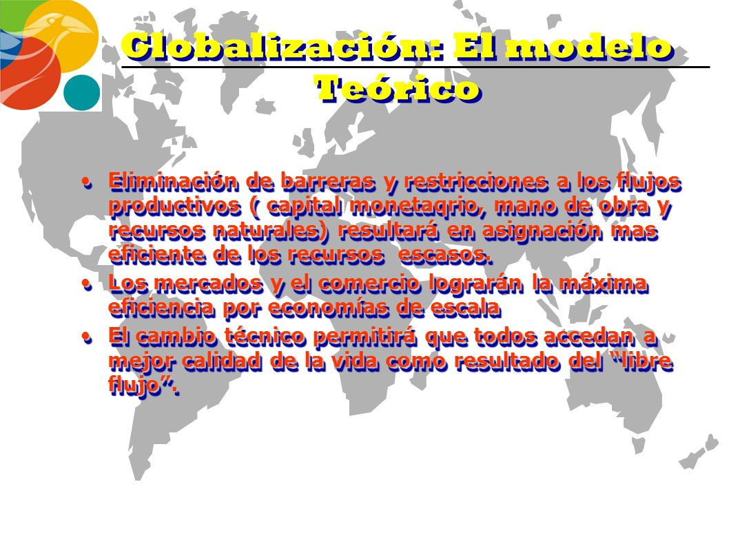 Globalización: El modelo Teórico