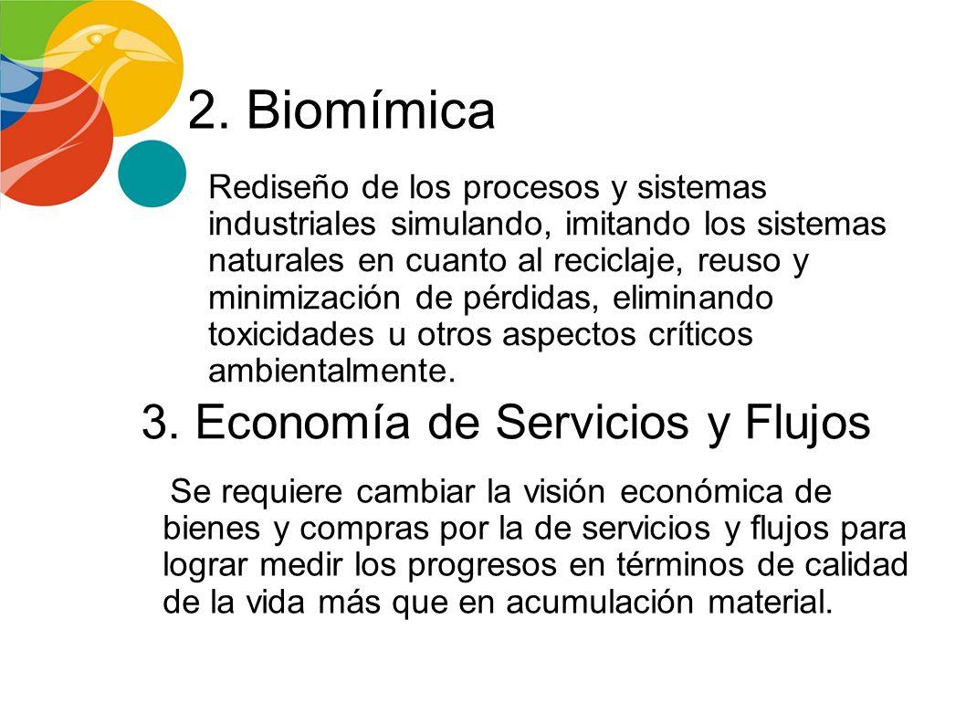 3. Economía de Servicios y Flujos
