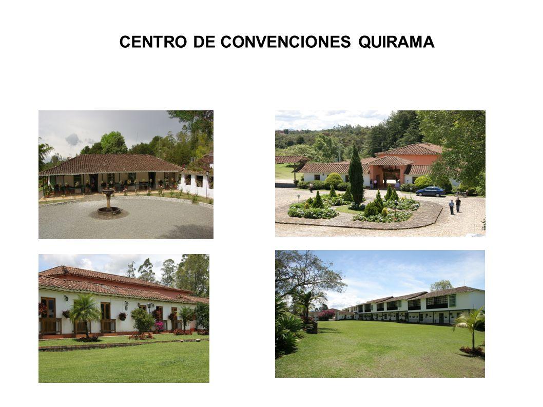 CENTRO DE CONVENCIONES QUIRAMA
