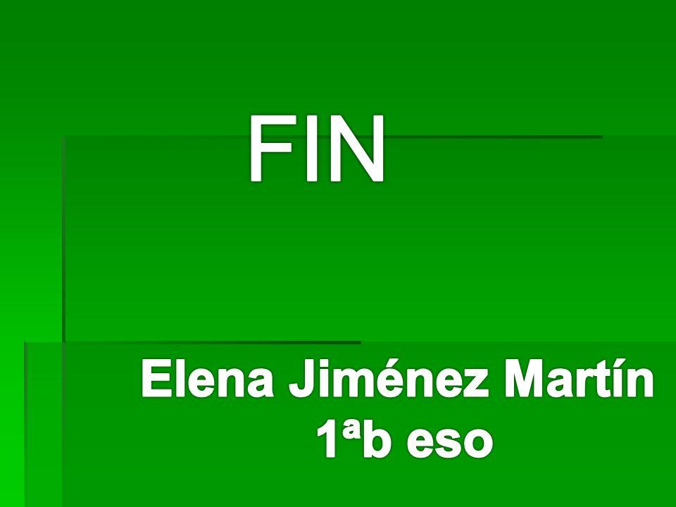 FIN Elena Jiménez Martín 1ªb eso