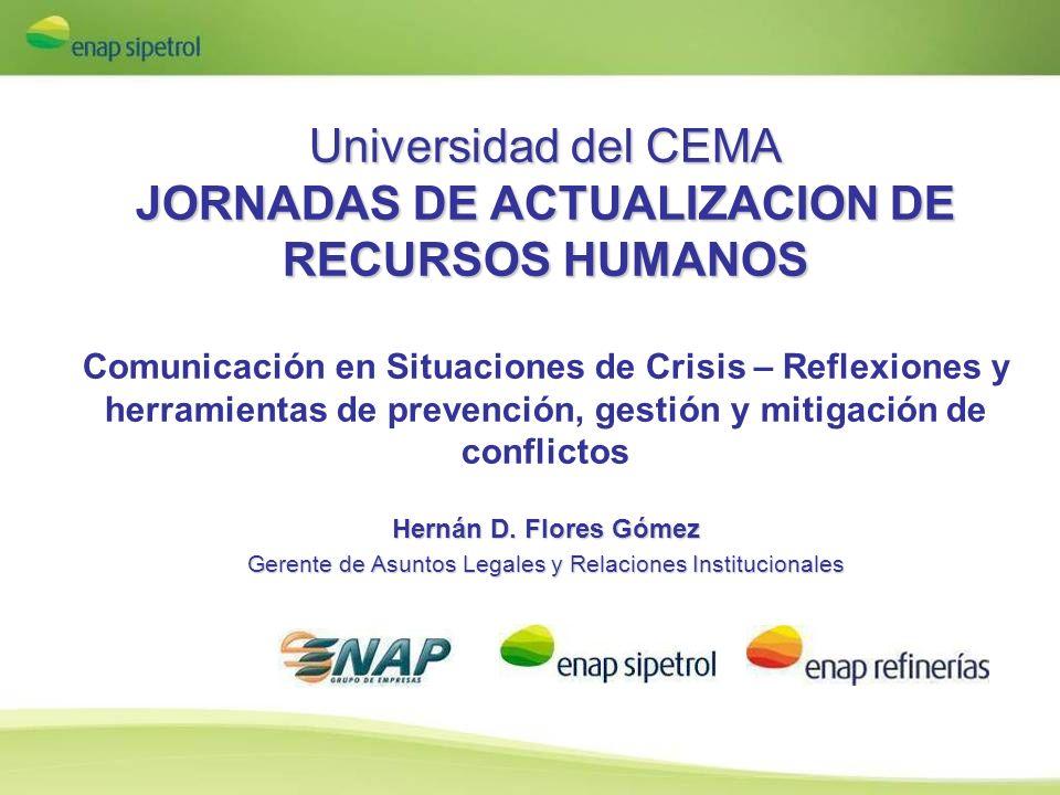 Universidad del CEMA JORNADAS DE ACTUALIZACION DE RECURSOS HUMANOS