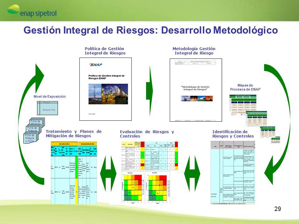 Gestión Integral de Riesgos: Desarrollo Metodológico