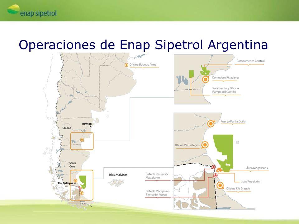 Operaciones de Enap Sipetrol Argentina