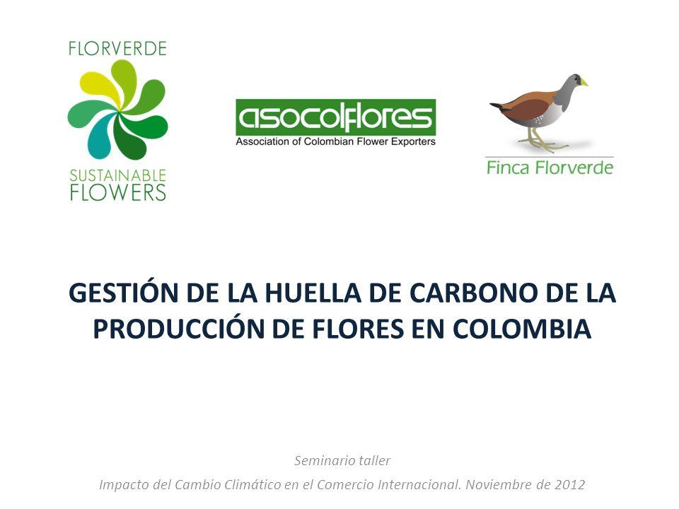 gestión de la huella de Carbono de la producción de flores en Colombia