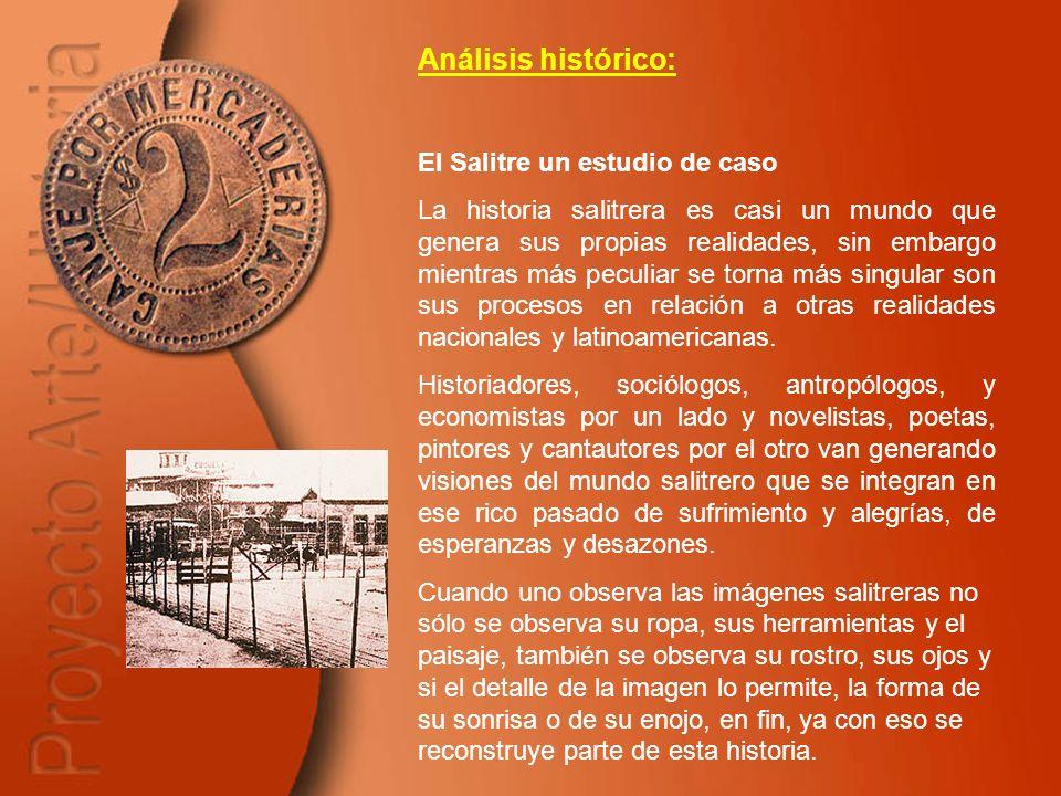 Análisis histórico: El Salitre un estudio de caso