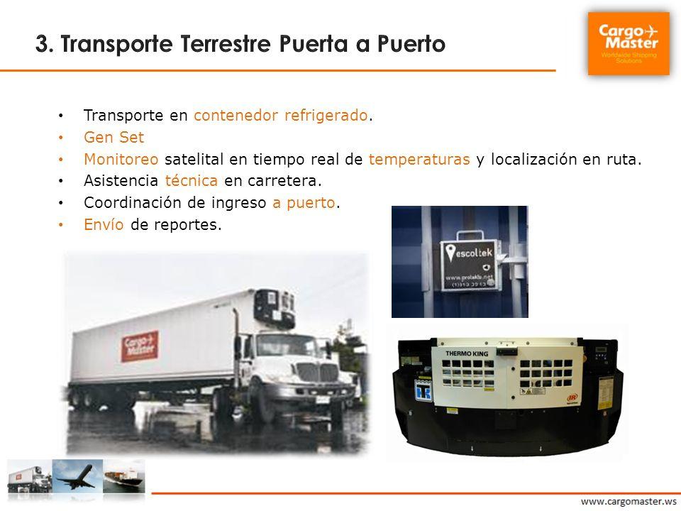 3. Transporte Terrestre Puerta a Puerto
