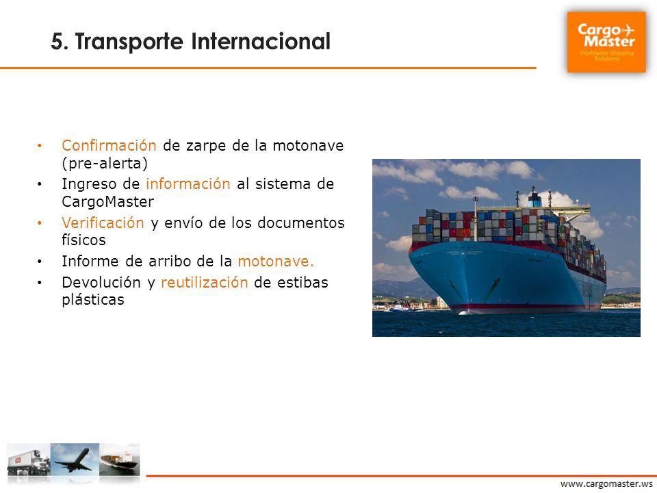 5. Transporte Internacional