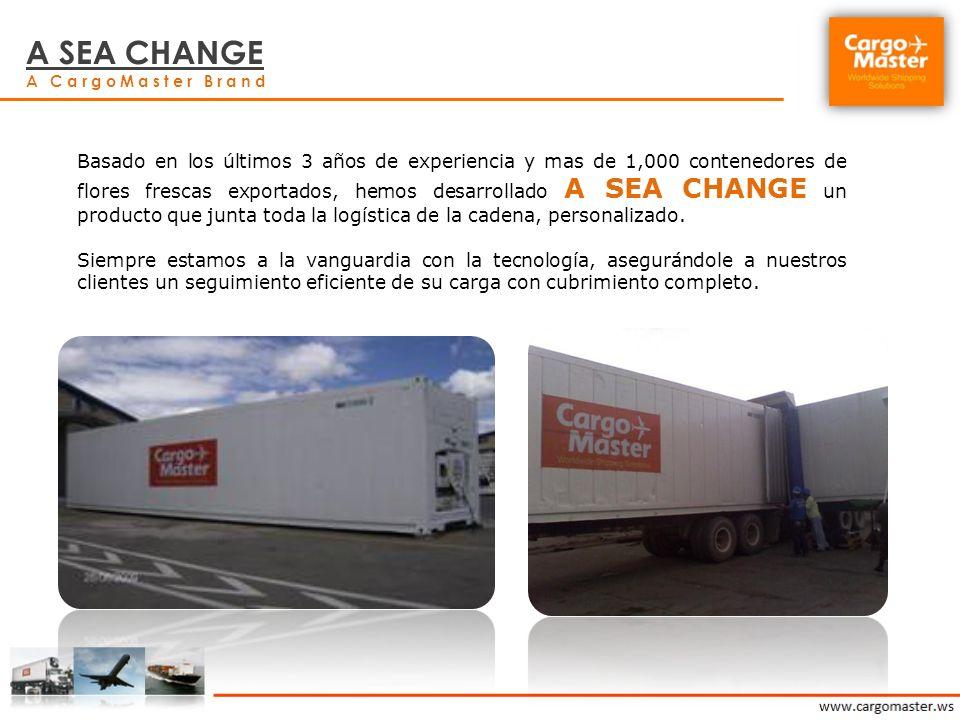 A SEA CHANGE A CargoMaster Brand.