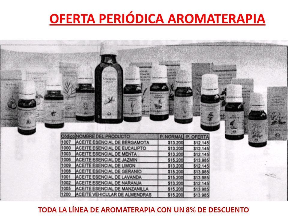 OFERTA PERIÓDICA AROMATERAPIA