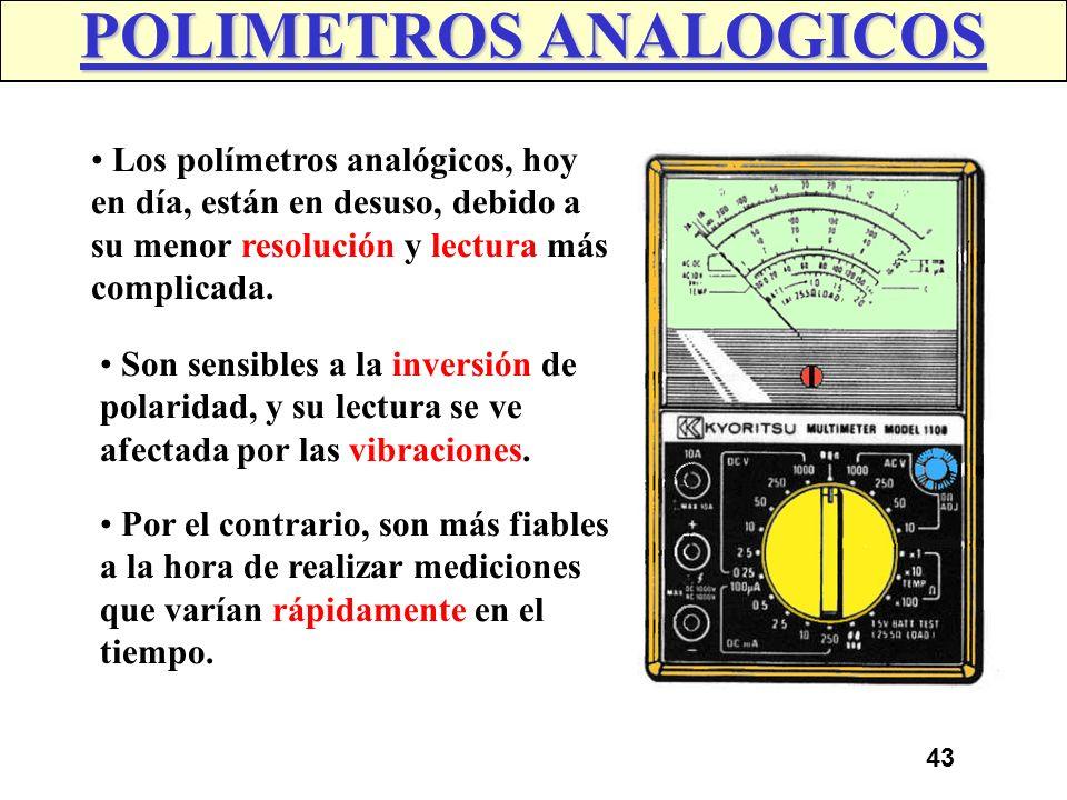 POLIMETROS ANALOGICOS