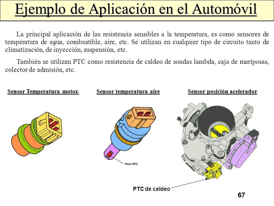 Ejemplo de Aplicación en el Automóvil