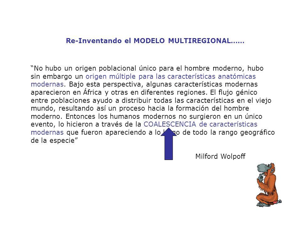 Re-Inventando el MODELO MULTIREGIONAL……
