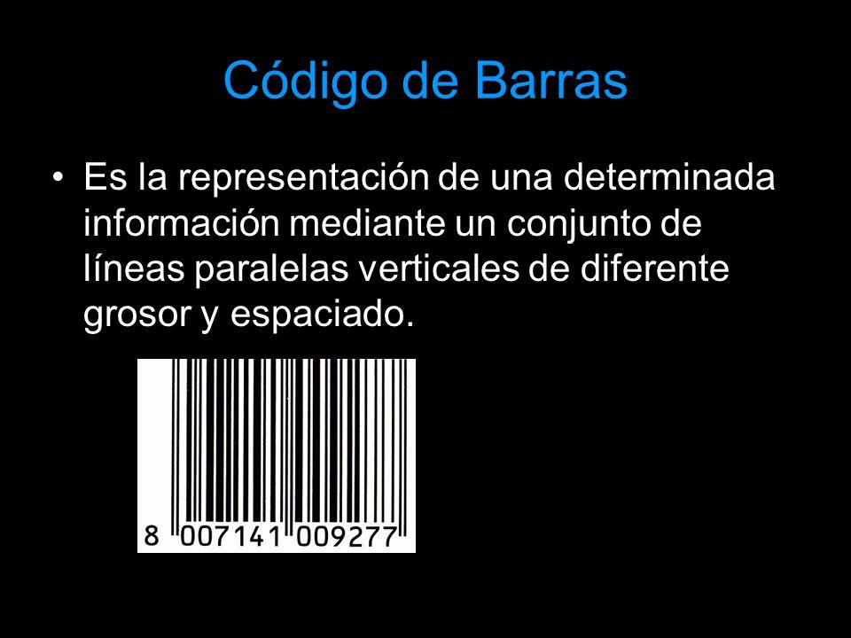 Código de Barras Simbología