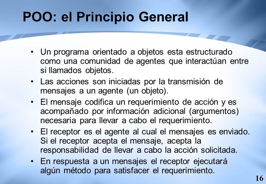 POO: el Principio General