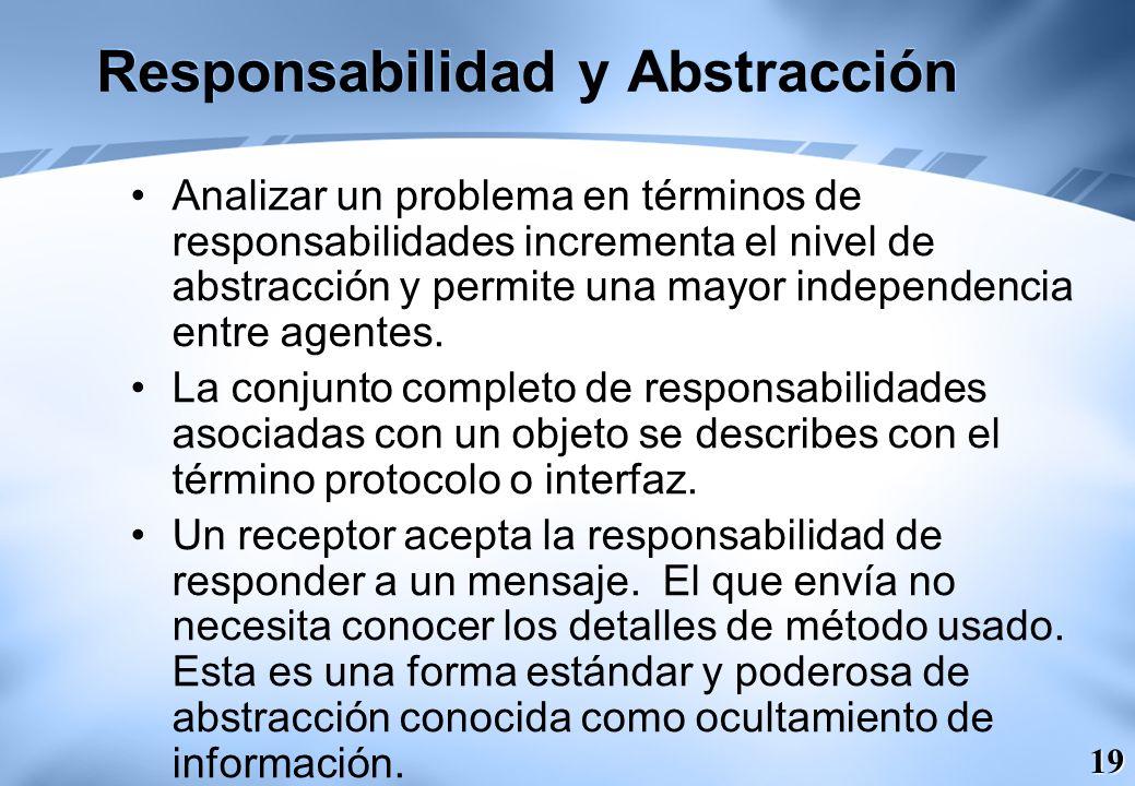 Responsabilidad y Abstracción