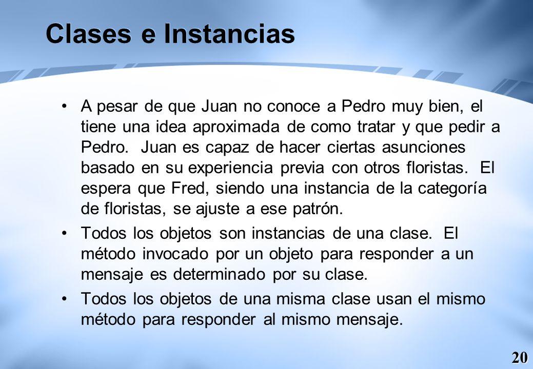 Clases e Instancias
