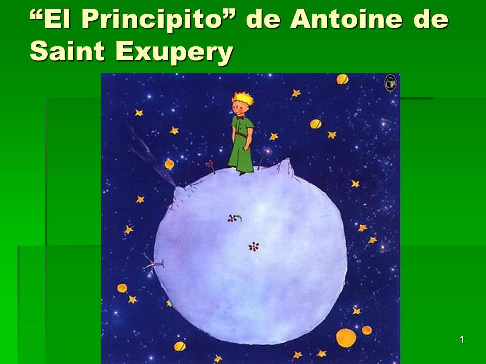 El Principito de Antoine de Saint Exupery