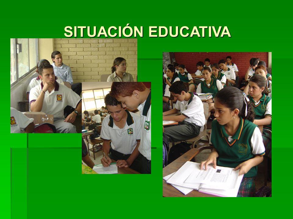 SITUACIÓN EDUCATIVA
