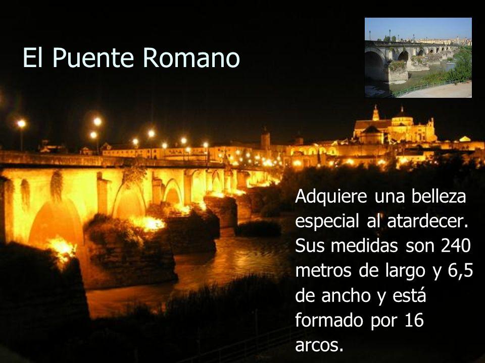 El Puente Romano Adquiere una belleza especial al atardecer.
