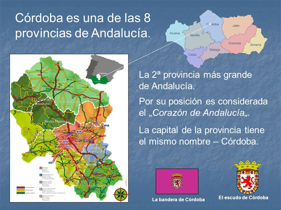 provincias de Andalucía.