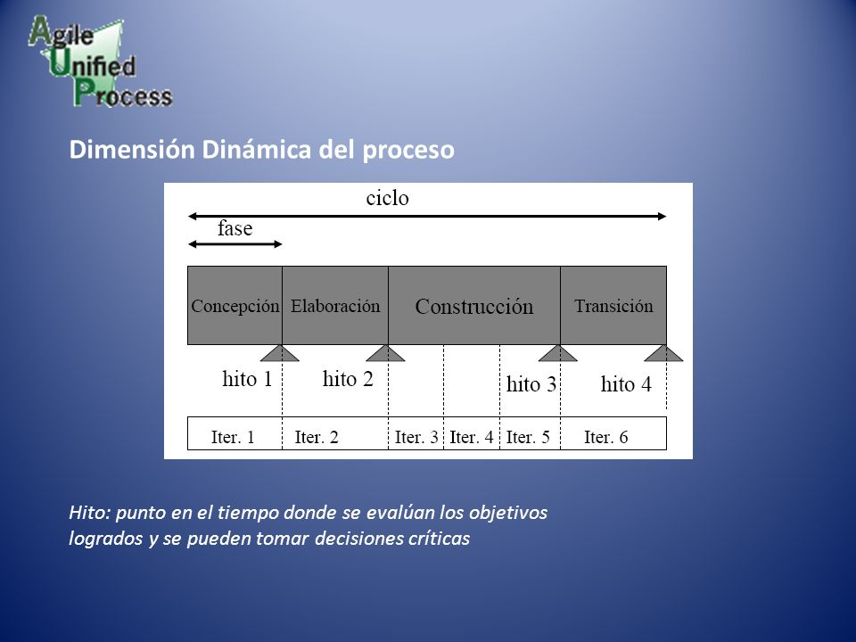 Dimensión Dinámica del proceso